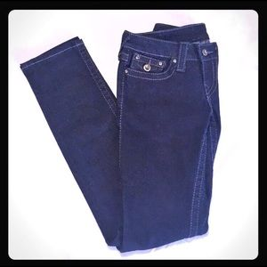 True Religion crystal buttoned Jeans
